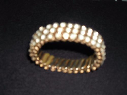 elegante pulsera de strass para gran vestir