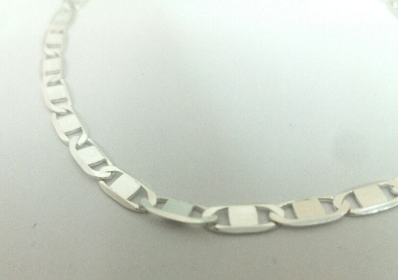 36122dd4396b elegante pulsera esclava tejido gucci de plata 925 4mm 19cm. Cargando zoom.
