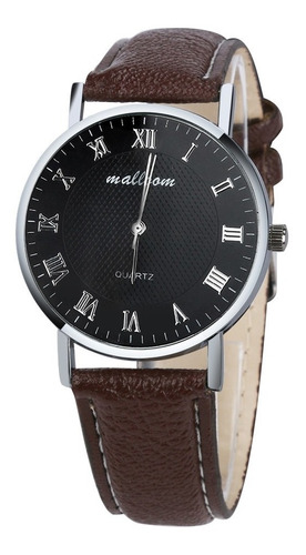 elegante reloj analogico mallom para hombre acero inoxidable