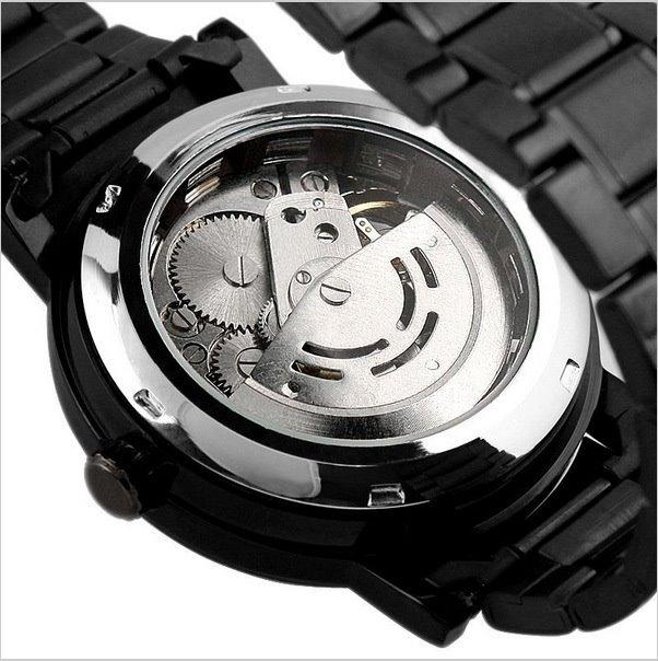 Elegante Reloj De Pulso Hombre Winner Skeleton Automatico -   649.00 ... a1414560b0c4