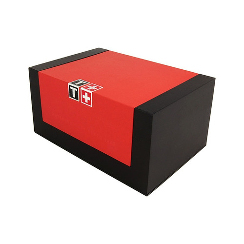 elegante reloj tissot prs 516 acero inoxidable importado