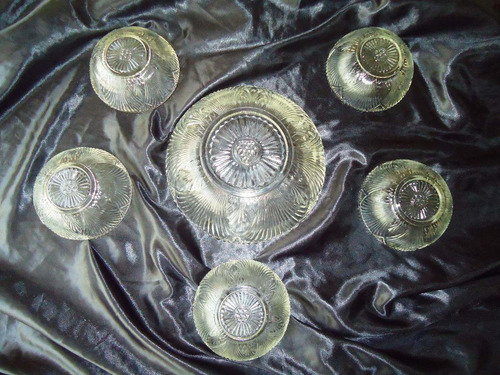elegante set vintage bowl/tigelas sobremesa,itália,déc.60