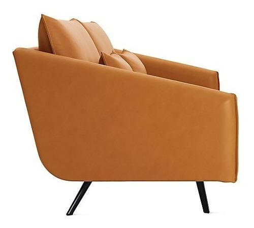 elegante sillón loveseat 2 cuerpos modelo malmo