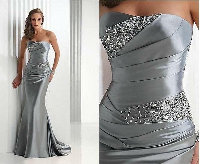 f4901379d Elegante Vestido Alta Costura Festa ,formatura, Mãe Madrinha - R ...