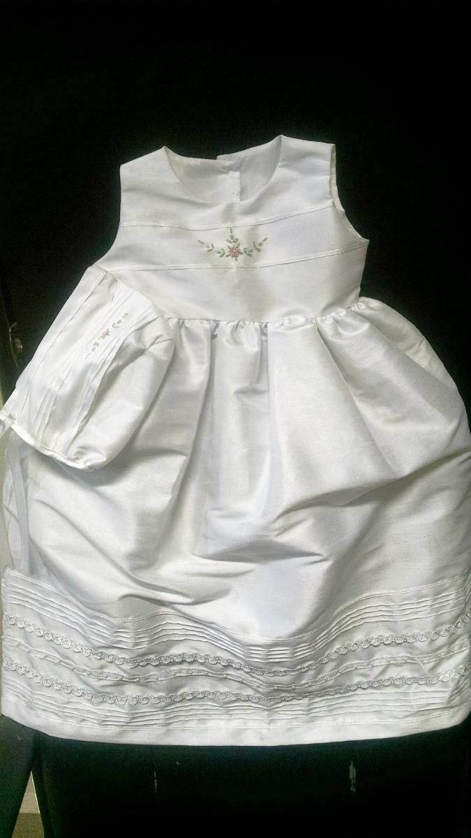 8a681f669 Elegante Vestido Artesanal Ropón De Presentación -   370.00 en ...