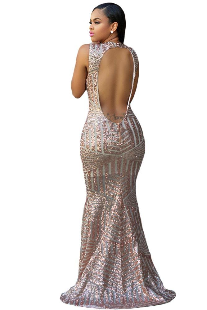 34a41aae5 Elegante Vestido Brillo Fiesta Boda Noche Largo -   849.00 en ...