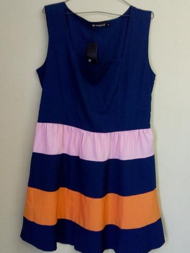 elegante vestido dama talla xl nuevo con etiquetas importado