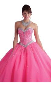 Elegante Vestido De 15 Años Color A Elcción Envío Gratis