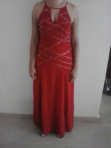 elegante vestido de dama formal