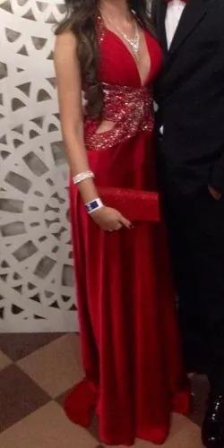 elegante vestido de noche