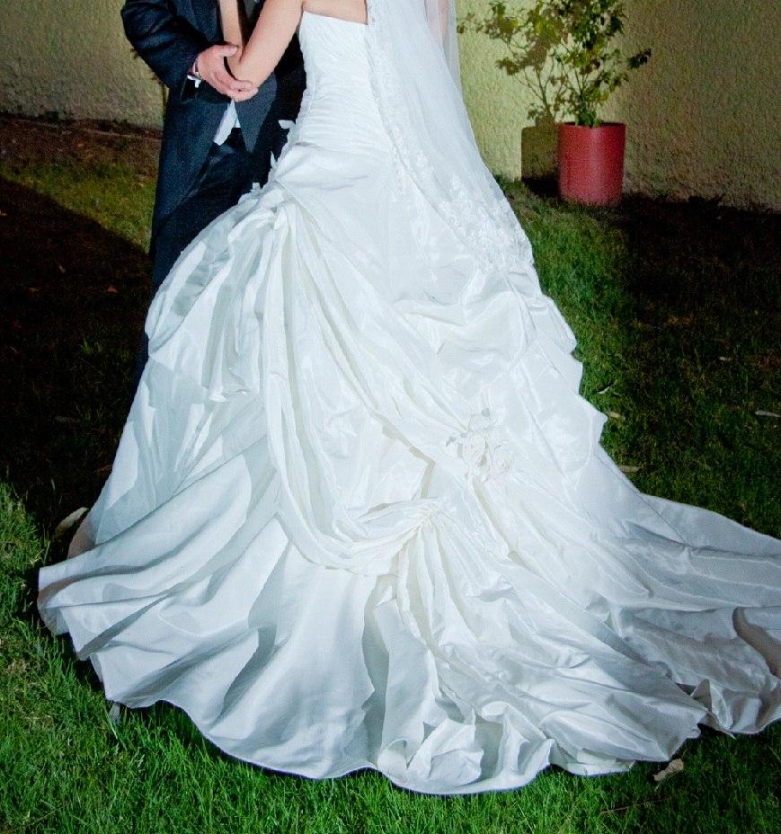 Elegante Vestido De Novia T 32-34 (12), Briden Formal - $ 6,500.00 ...