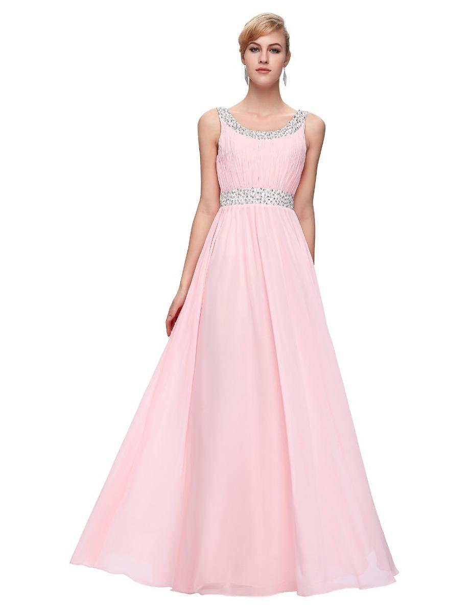 Vestidos fiesta color rosa