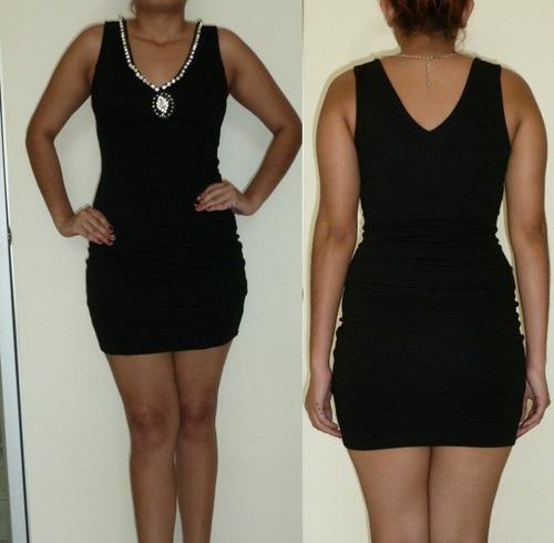 elegante vestido negro-americano