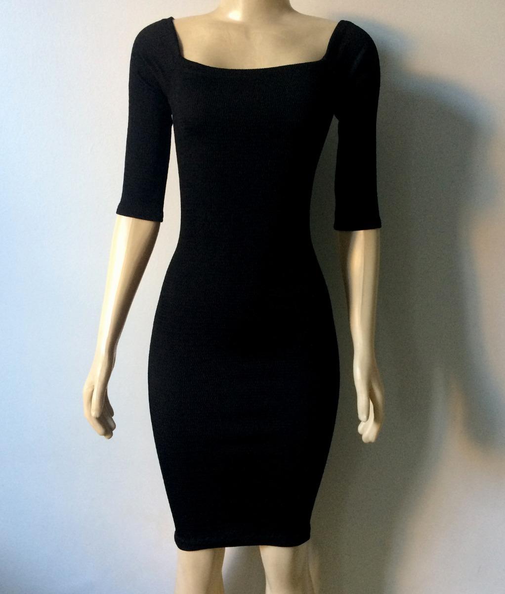 af40b827e elegante vestido preto modelo tubinho - festas (exclusivo!) Carregando zoom.