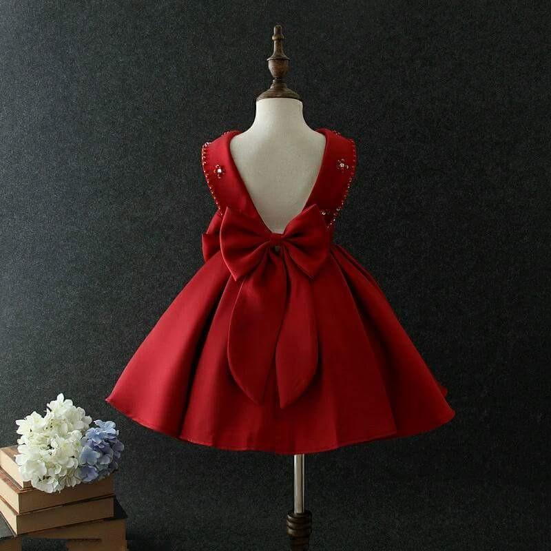 Vestido Rojo De Fiesta Para Nena Vestidos De Coctel 2019