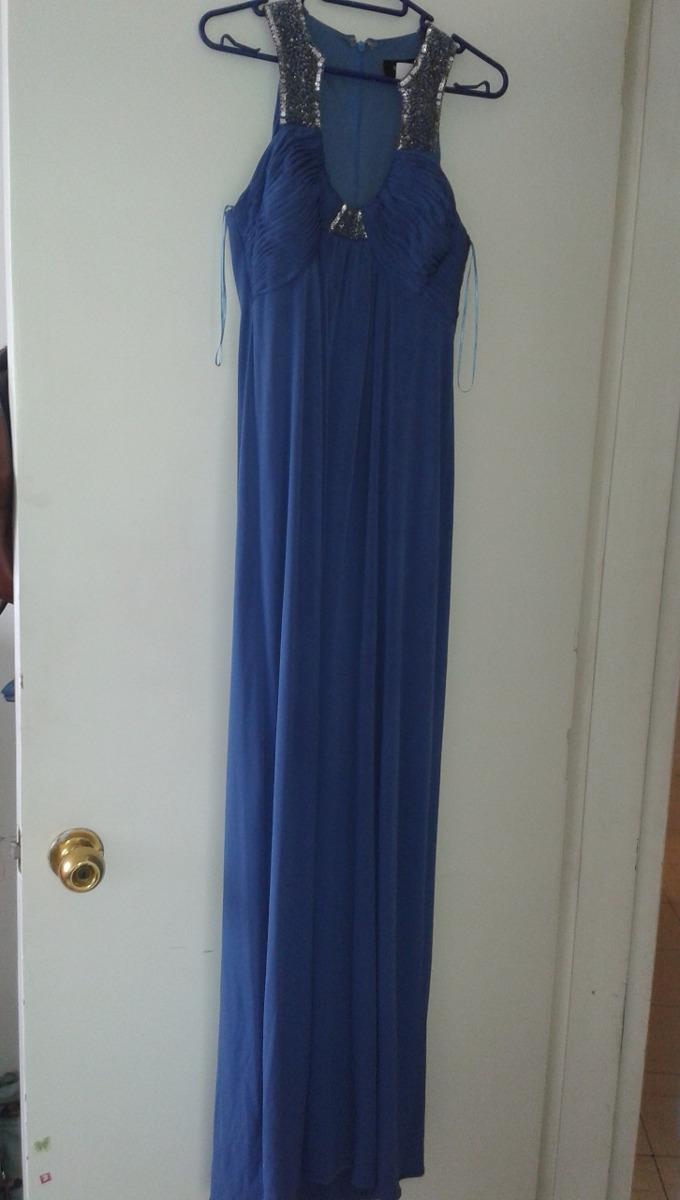Elegante Vestido Rue De La Paix Azul Chico 50000
