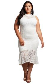d54c9e7afcdf 4 Jalisco Vestido Blanco 3 - Vestidos de Mujer Largo XXL en Mercado ...