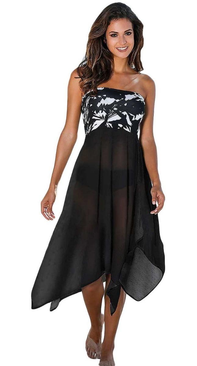 93a946b7ab1b Elegante Vestido Y Pareo, Versátil