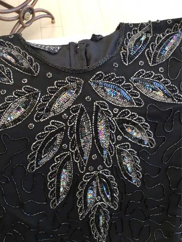 elegante y fino vestido de fiesta