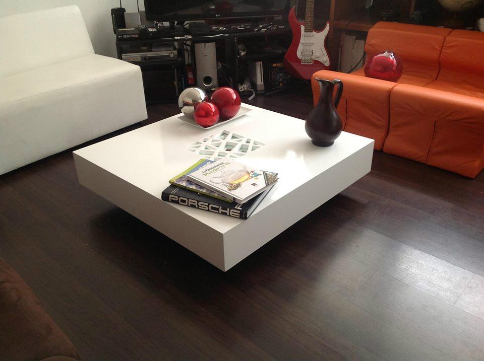 Elegante y moderna mesa de centro minimalista 5 for Mesas de centro para sala modernas