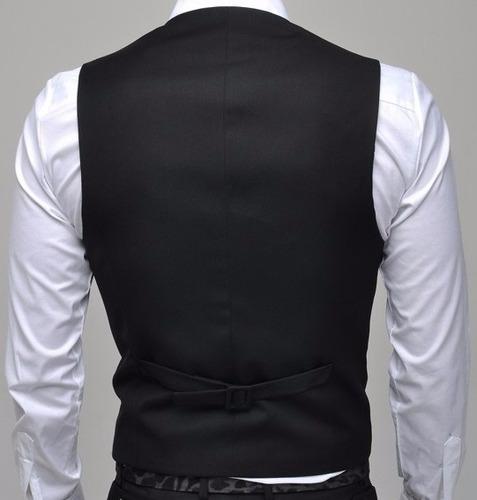 elegantes chalecos slim fit, entallados, moda coreana 2017