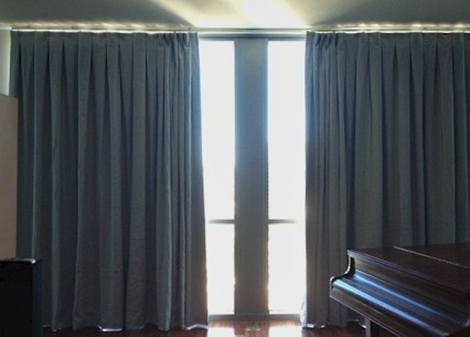 elegantes cortinas blackout originales ( antisolares )