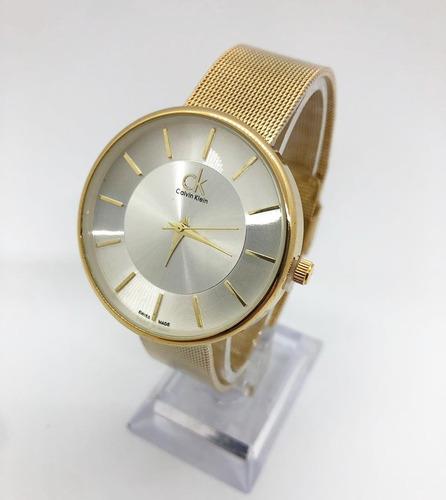 elegantes relojes calvin klein para dama