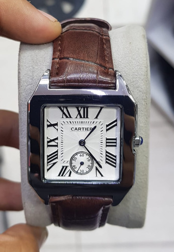 elegantes relojes cartier para caballero