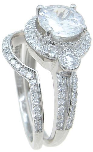 elegantes y baratos,anillos para boda cz, estilo vintage
