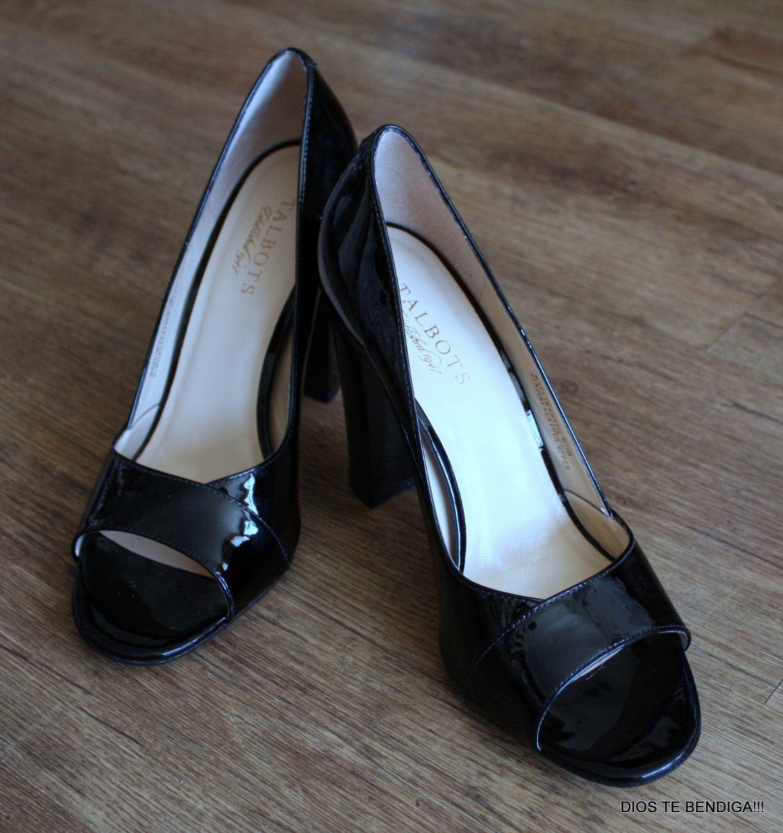 Elegantes zapatos charol negro talbots 39 en mercado libre - Charol zapateria ...