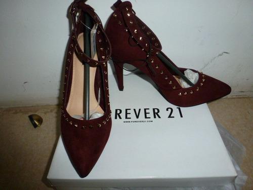 elegantes  zapatos forever 21