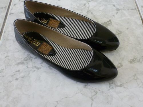 elegantes  zapatos negros talla 9