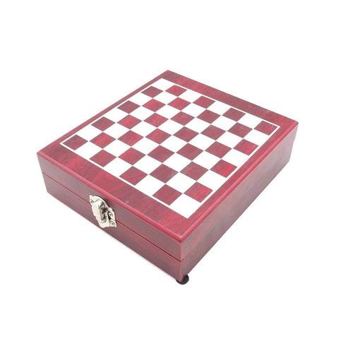 elegantoss ajedrez & vino regalo set, kit