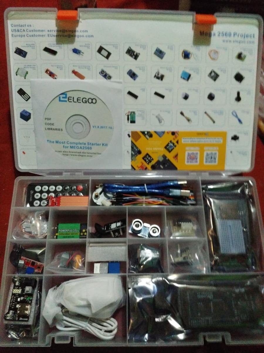 Elegoo The Most Complete Starter Kit Mega2560 Project