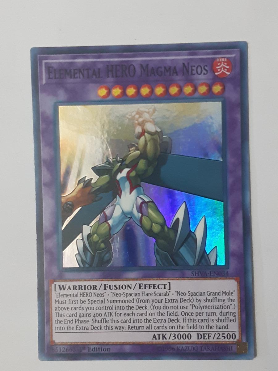 Elemental HERO Magma Neos TAEV-JP043 Ultimate Japan Yu-Gi-Oh!!