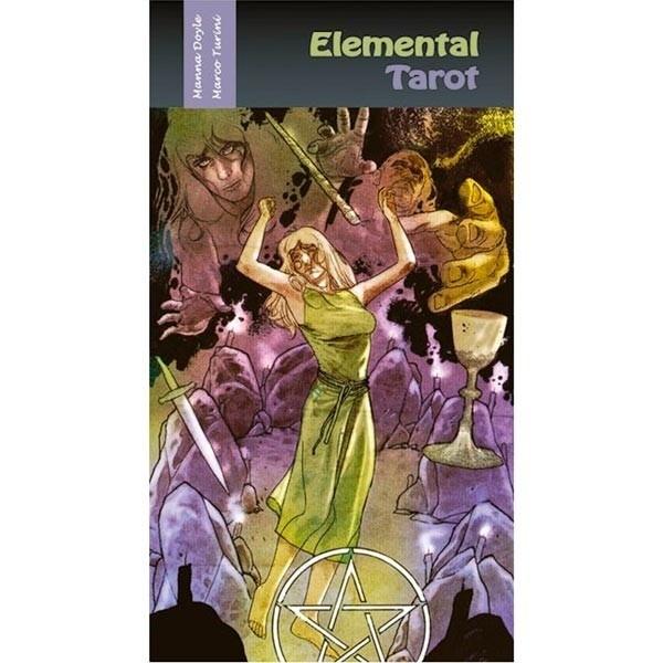 Elemental Tarot - Novo Com Lacre Original