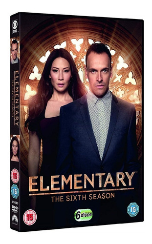 elementary - temporada 6 - dvd