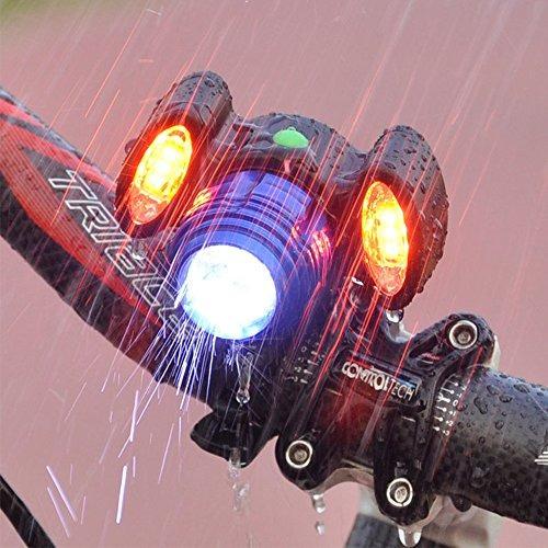elementdigital led luz delantera para biciclet