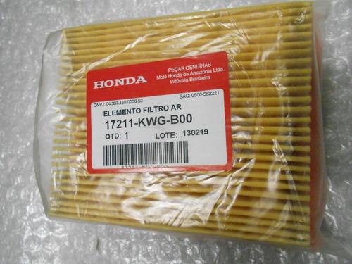 elemento do filtro de ar cg 125/ 150 todas apartir 2008