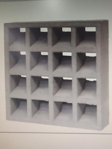 elemento vazado de concreto 40cmx40cmx07cm