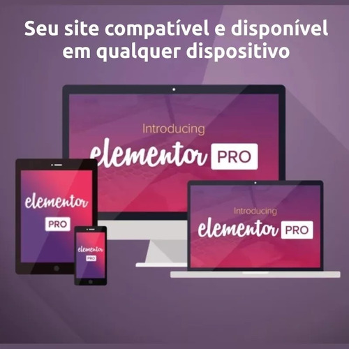 elementor pro #original# editor de sites + temas #envioagora
