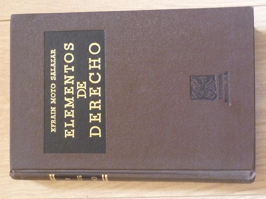 libro elementos de derecho efrain moto salazar pdf
