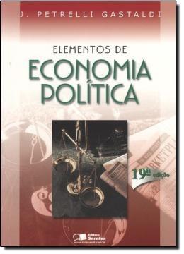elementos de economia politica - 19ª edicao