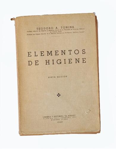 elementos de higiene - teodoro tonina