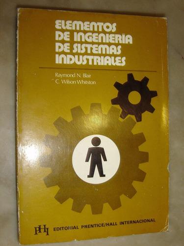 elementos de ingenieria de sistemas industriales 1973