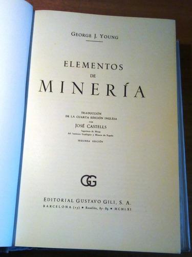 elementos de minería.