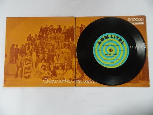 elenco da rede globo 1971 um novo tempo - compacto ep 11