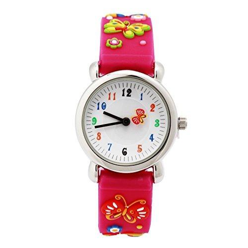eleoption relojes para niños a prueba de agua 3d de dibujos