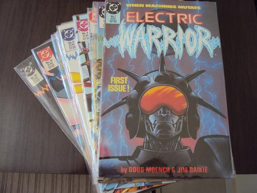 eletric warrior - 18 edições - dc comics - importada
