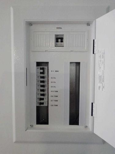 elétrica e sistemas de segurança
